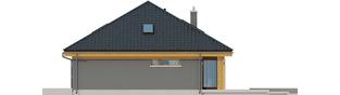 Projekt domu Gabriel G1 MULTI-COMFORT - elewacja prawa