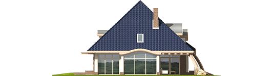 Filip - Projekt domu Filip G2 - elewacja lewa