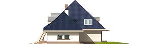 Projekt domu Filip G2 - elewacja prawa