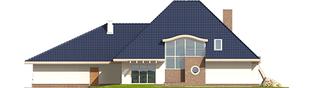 Projekt domu Filip G2 - elewacja tylna