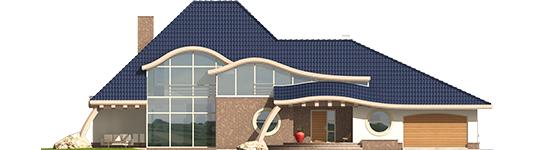Filip - Projekt domu Filip G2 - elewacja frontowa