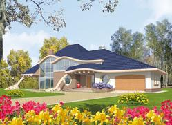 Podrobnosti projektu rodinného domu: Filip