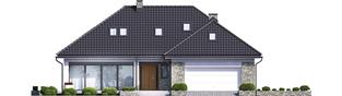 Projekt domu Magnus II G2 - elewacja frontowa