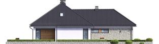 Projekt domu Magnus II G2 - elewacja lewa