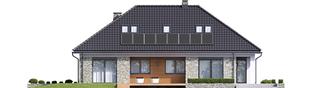 Projekt domu Magnus II G2 - elewacja tylna