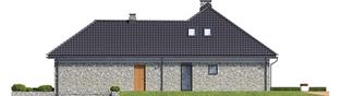 Projekt domu Magnus II G2 - elewacja prawa