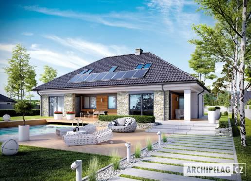 Projekt rodinného domu - Magnus II G2