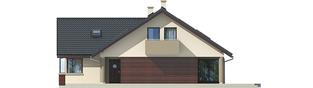 Projekt domu Malena G1 (wersja A) - elewacja prawa