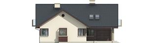 Projekt domu Malena G1 (wersja A) - elewacja frontowa