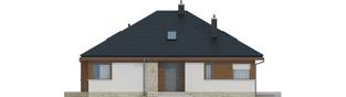 Projekt domu Flo II MULTI-COMFORT - elewacja frontowa