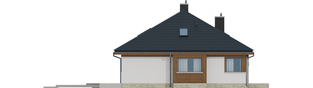 Projekt domu Flo II MULTI-COMFORT - elewacja lewa