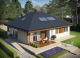 Projekt rodinného domu: Flo II Multi Comfort