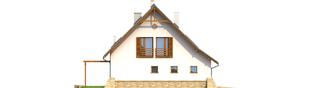 Projekt domu Anastazja G1 - elewacja lewa