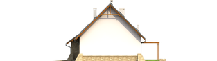 Projekt domu Anastazja G1 - elewacja prawa