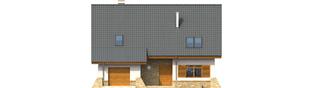 Projekt domu Anastazja G1 - elewacja frontowa