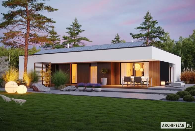 Projekt domu Mini 4 G1 MODERN -
