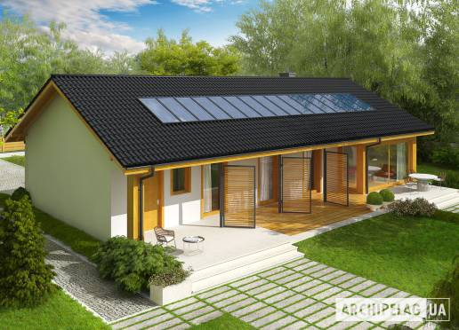Проект будинку - Ерік II (Г1, 30°)