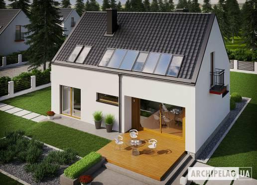 Проект будинку - Е11 ІІ (Економ)