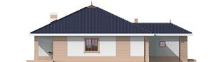Projekt domu Irma II G1 - elewacja lewa