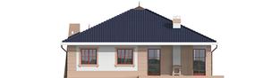 Projekt domu Irma II G1 - elewacja tylna
