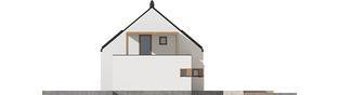 Projekt domu Katrina III G1 ENERGO PLUS  - elewacja prawa