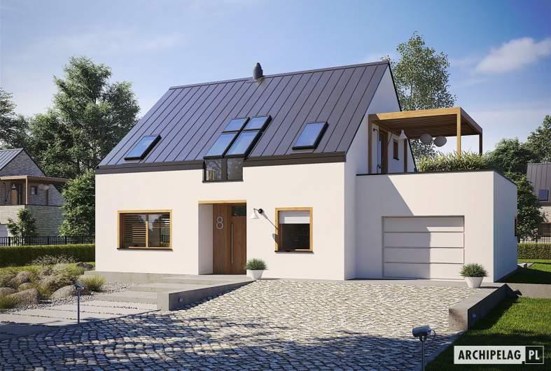 Projekt domu Katrina III G1 ENERGO PLUS - wizualizacja frontowa