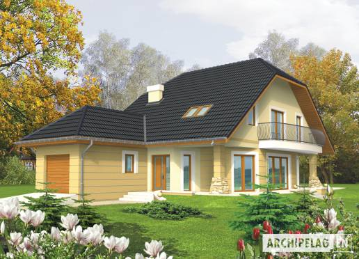 House plan - Hiacint G1