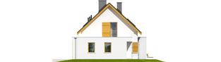 Projekt domu Patryk G1 - elewacja prawa
