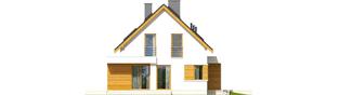 Projekt domu Patryk G1 - elewacja lewa