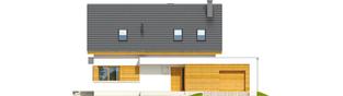 Projekt domu Patryk G1 - elewacja frontowa