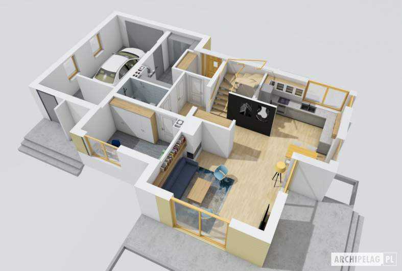 Projekt domu Patryk G1 -