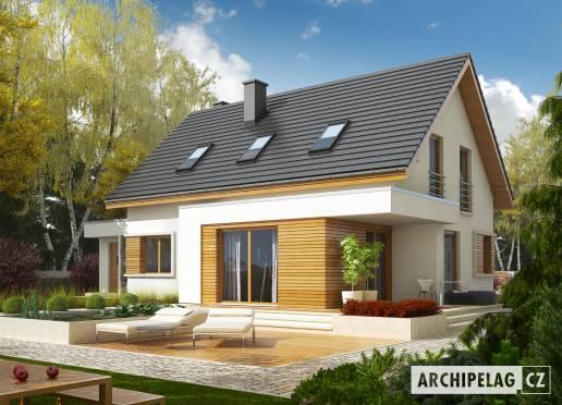 Projekt rodinného domu - Patrik G1