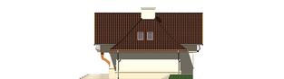 Projekt domu Amelia G1 - elewacja prawa