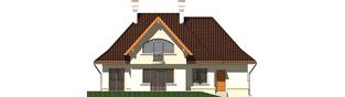 Projekt domu Amelia G1 - elewacja tylna