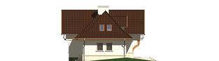 Projekt domu Amelia G1 - elewacja lewa