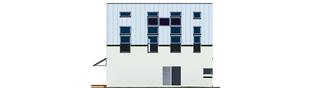 Projekt domu Lumina - elewacja lewa