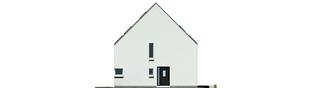Projekt domu Lumina - elewacja frontowa