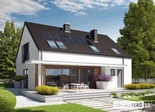 Проект будинку - Е4 (Г1, Економ, версія А)