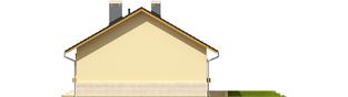 Projekt domu Erin - elewacja prawa