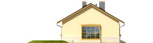 Projekt domu Erin - elewacja lewa