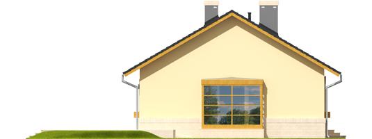 Erin - Projekty domów ARCHIPELAG - Erin - elewacja lewa