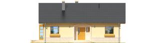 Projekt domu Erin - elewacja frontowa