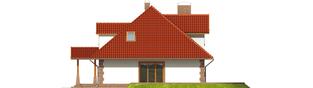 Projekt domu Kiara G2 - elewacja prawa