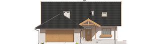 Projekt domu Lote III G2 - elewacja frontowa