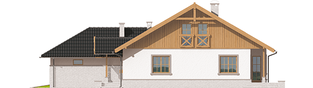 Projekt domu Lote III G2 - elewacja prawa