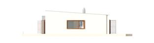 Projekt domu EX 8 G2 (wersja C) ENERGO PLUS - elewacja prawa