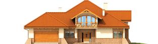 Projekt domu Tadeusz G2 - elewacja frontowa
