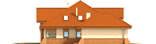 Projekt domu Tadeusz G2 - elewacja lewa