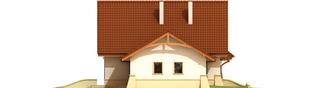 Projekt domu Helka G2 - elewacja lewa