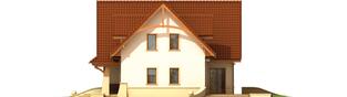 Projekt domu Helka G2 - elewacja prawa